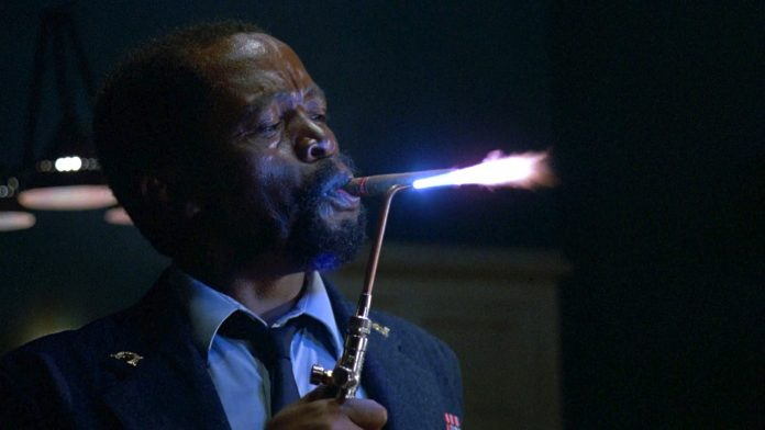 Zakes Mokae as Dargent Peytraud in Wes Craven's The Serpent and the Rainbow