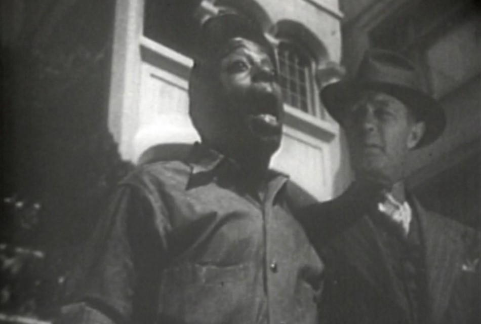 A scene from the East Side Kids movie Boys of the City