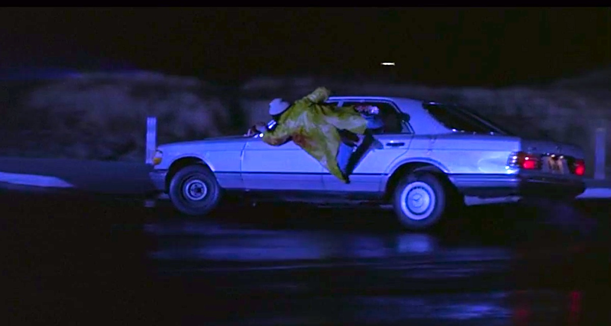 A hitchhiker catches a ride in Creepshow 2