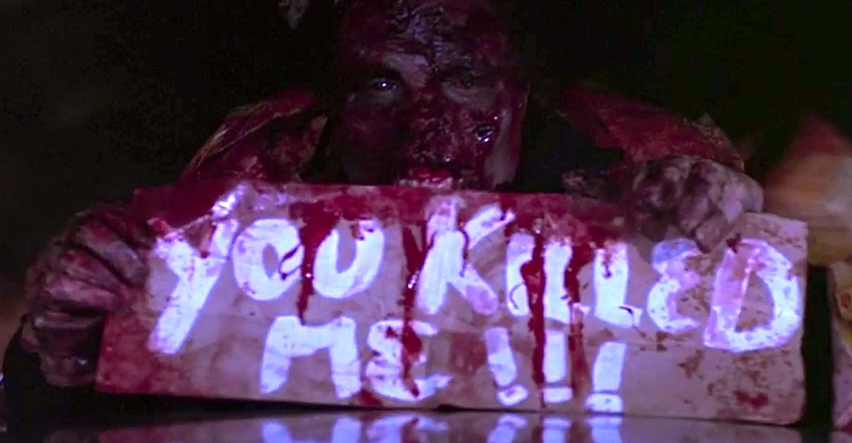 A zombie hitchhiker seeks revenge in Creepshow 2
