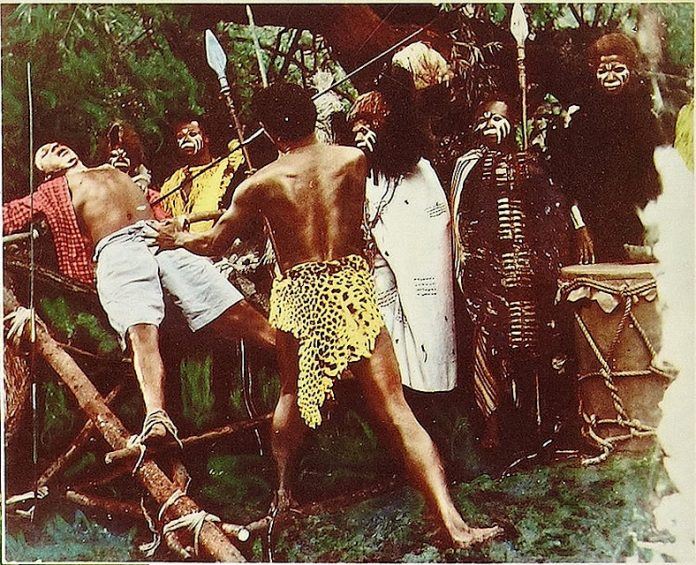 African tribesmen in Curse of the Voodoo