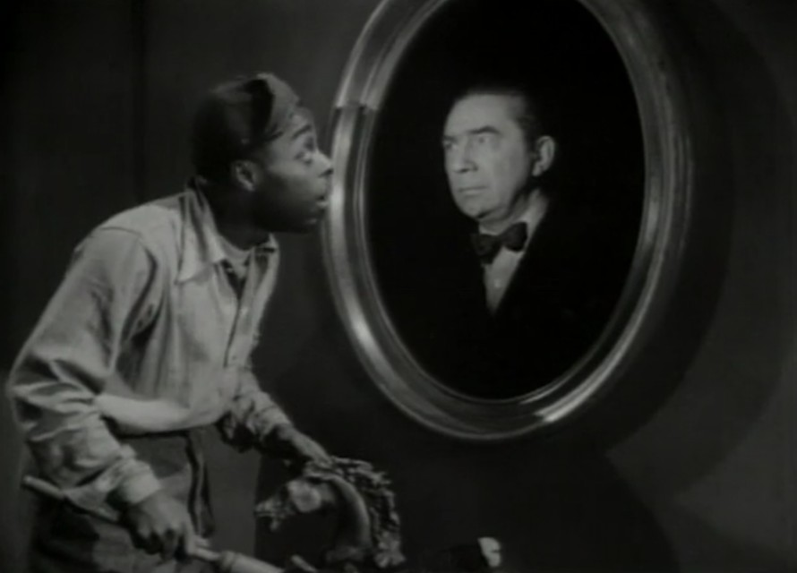 A scene from the movie Ghosts on the Loose