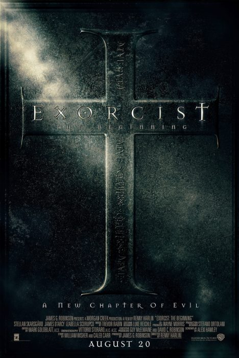 Exorcist: The Beginning horror movie poster