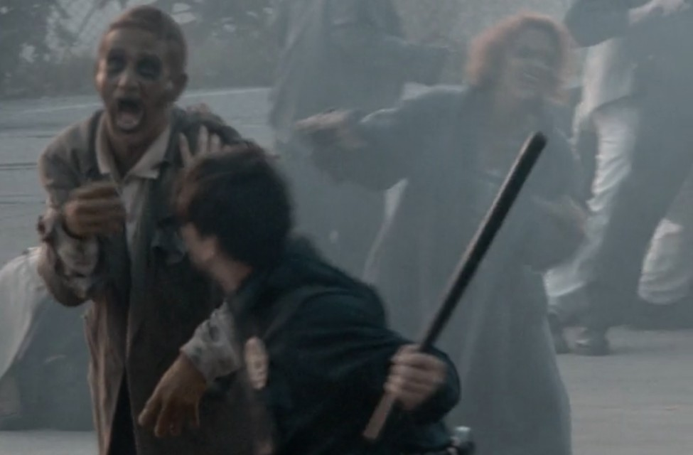 A scene from the movie Gangs of the Dead (Last Rites)