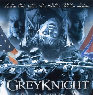 Grey Knight Ghost Brigade horror movie poster