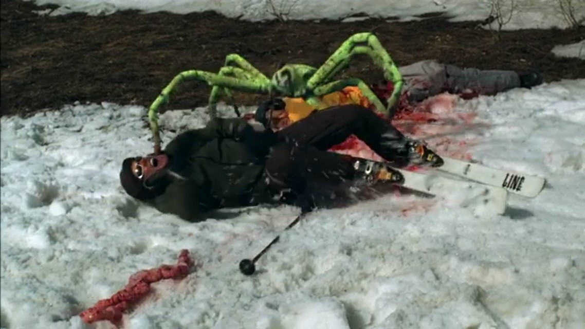 A scene from the movie Ice Spiders