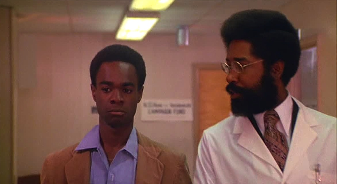 Glynn Turman in the blaxploitation horror movie J.D.'s Revenge