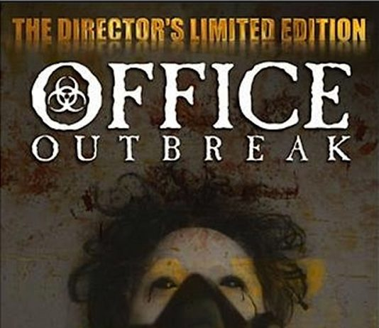 Office Outbreak horror movie poster