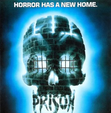 Prison horror movie poster