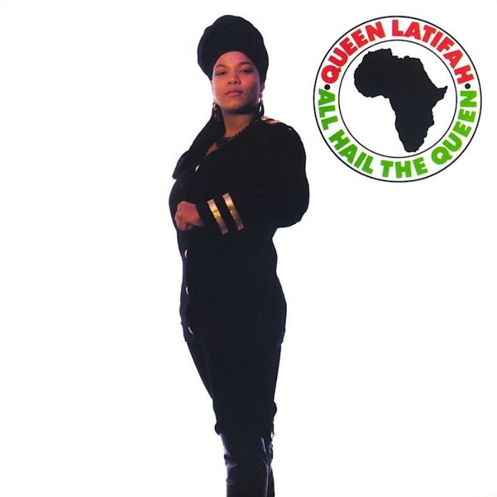 Rapper Queen Latifah