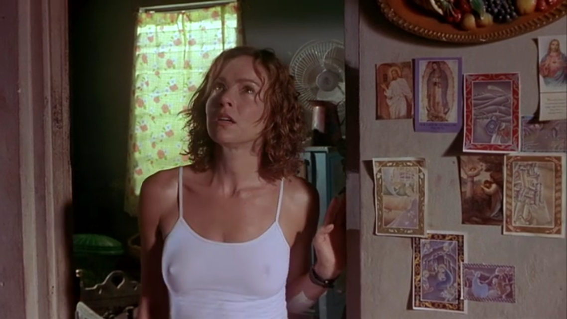 A scene from the horror movie Tales from the Crypt: Ritual