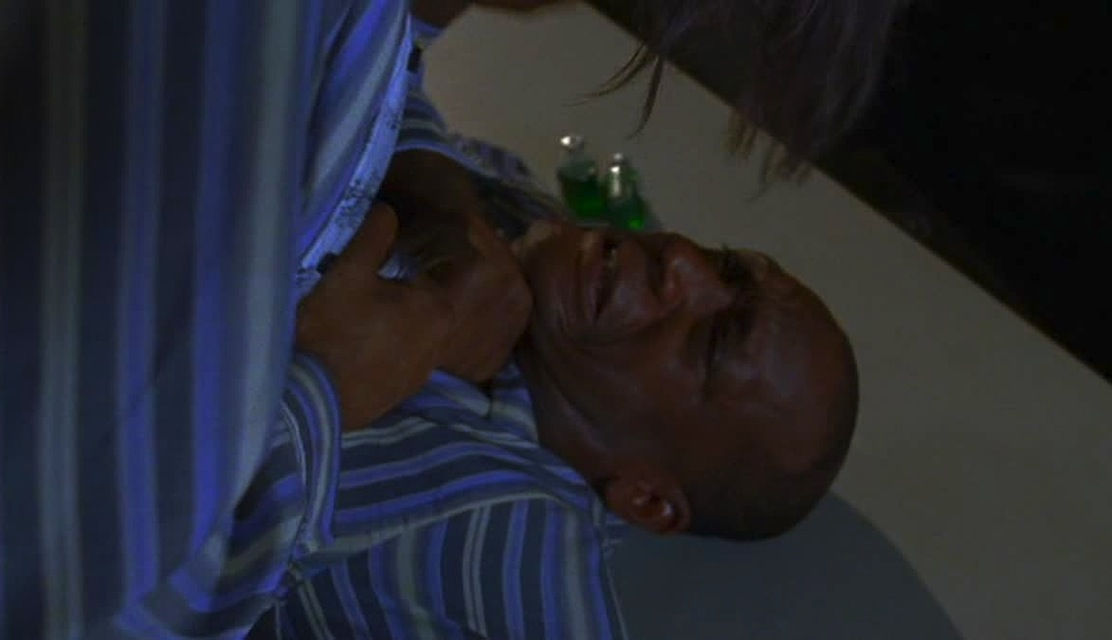 Tony Todd in the horror movie The Strange Case of Dr. Jekyll and Mr. Hyde