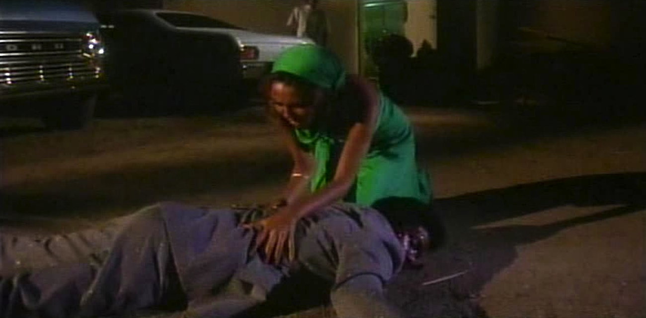 A scene from the horror movie Sugar Hill