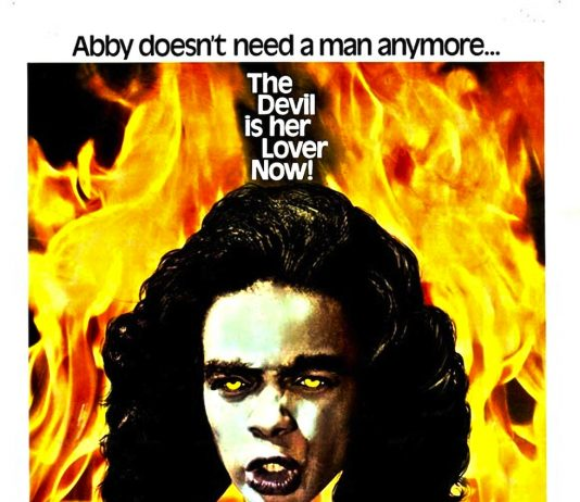 Abby horror movie poster