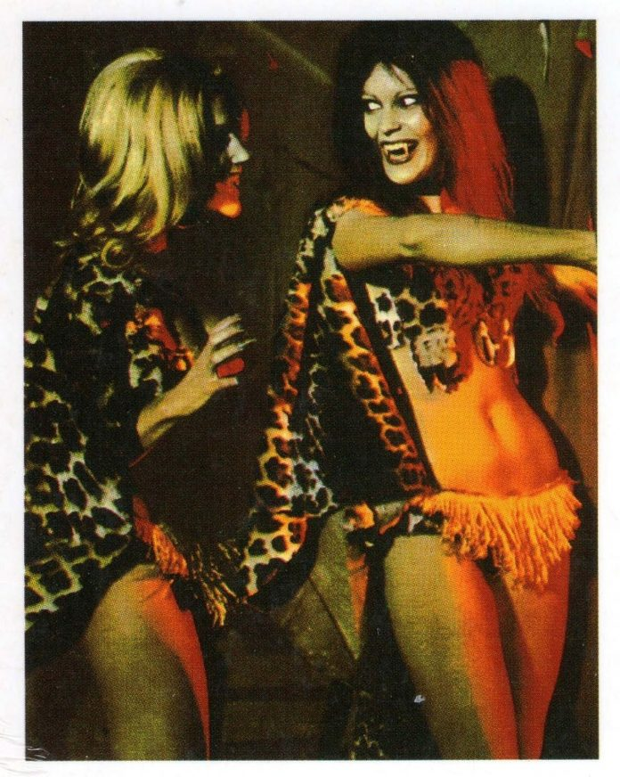 Leopard women in Night of the Sorcerers horror movie