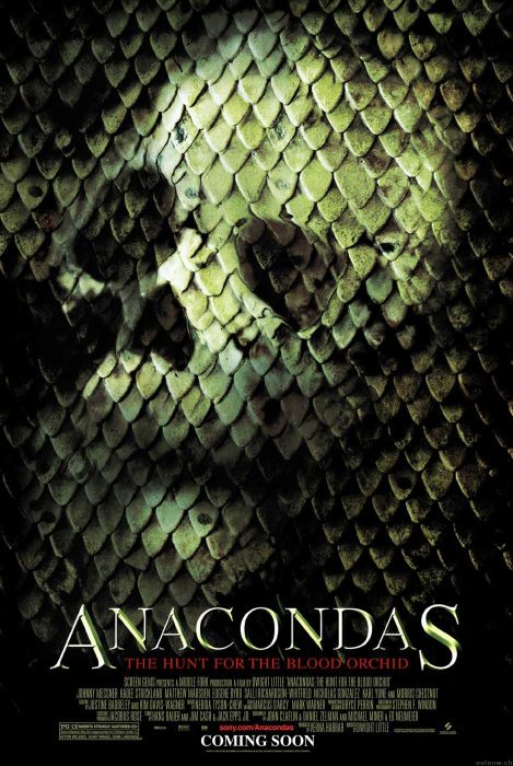Anacondas: Hunt for the Blood Orchid movie poster