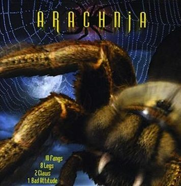 Arachnia horror movie poster
