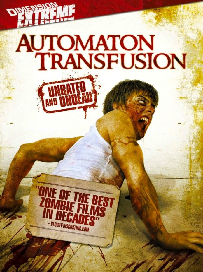 Automaton Transfusion horror movie