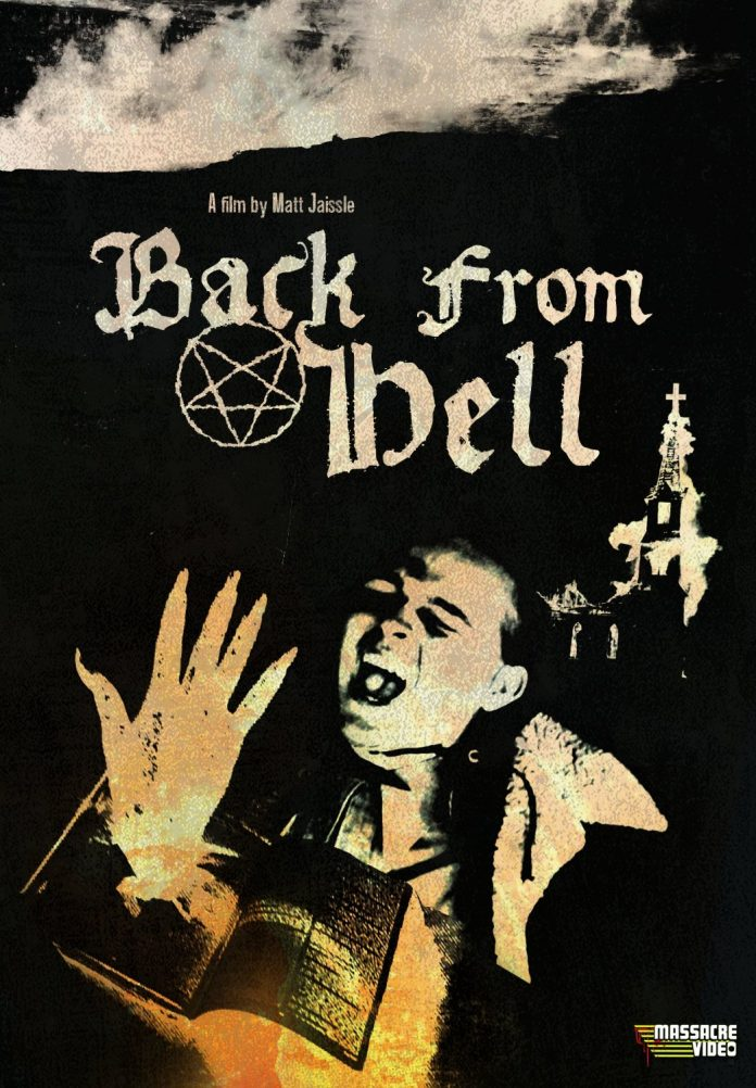 Back from Hell horror movie poster