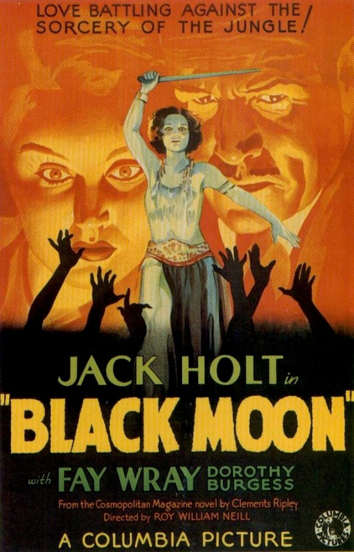 Black Moon horror movie poster