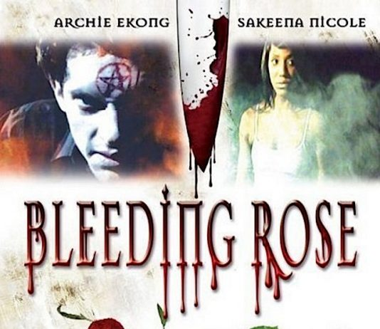 Bleeding Rose horror movie poster