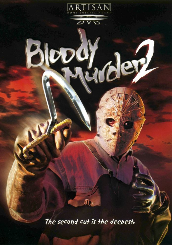 Bloody Murder 2 horror movie poster