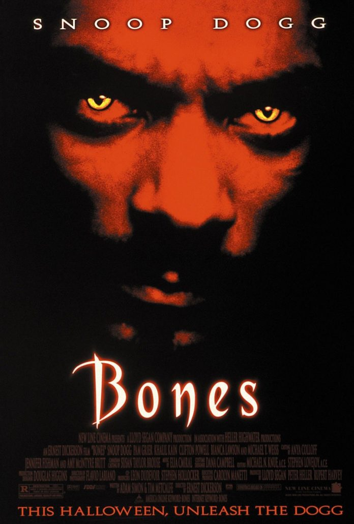 Snoop Dogg in Bones horror movie poster