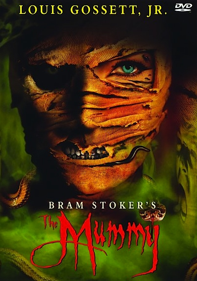 Bram Stoker's The Mummy horror movie