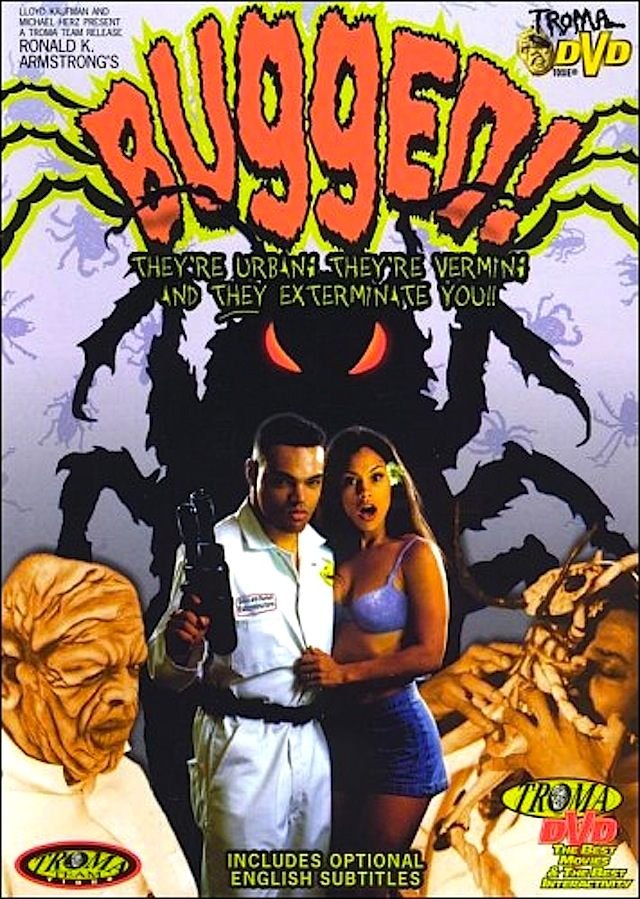 Bugged horror movie poster