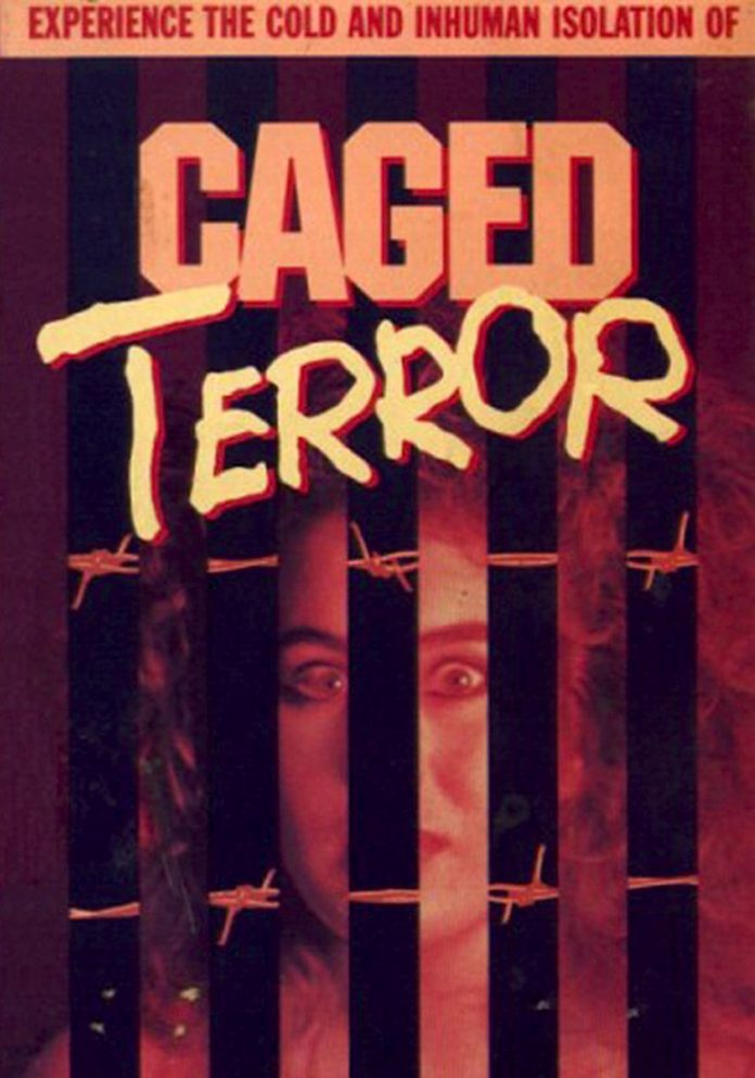 Caged Terror horror movie poster