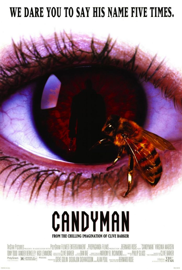 Candyman horror movie poster