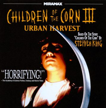 Children of the Corn 3 Urban Harvest horror movie poster