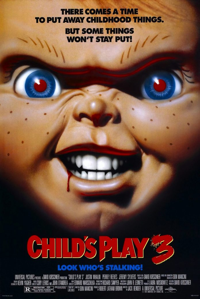Child's Play 3 horror movie poster