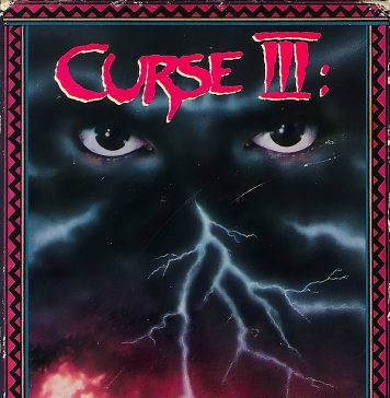 Curse III horror movie poster