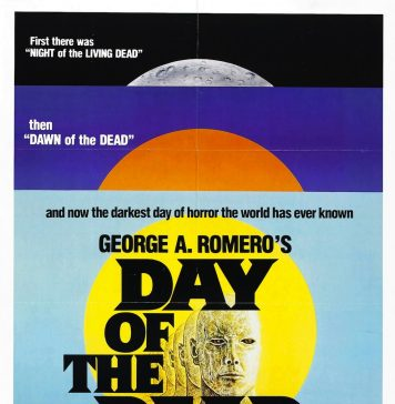 George Romero's Day of the Dead horror movie poster