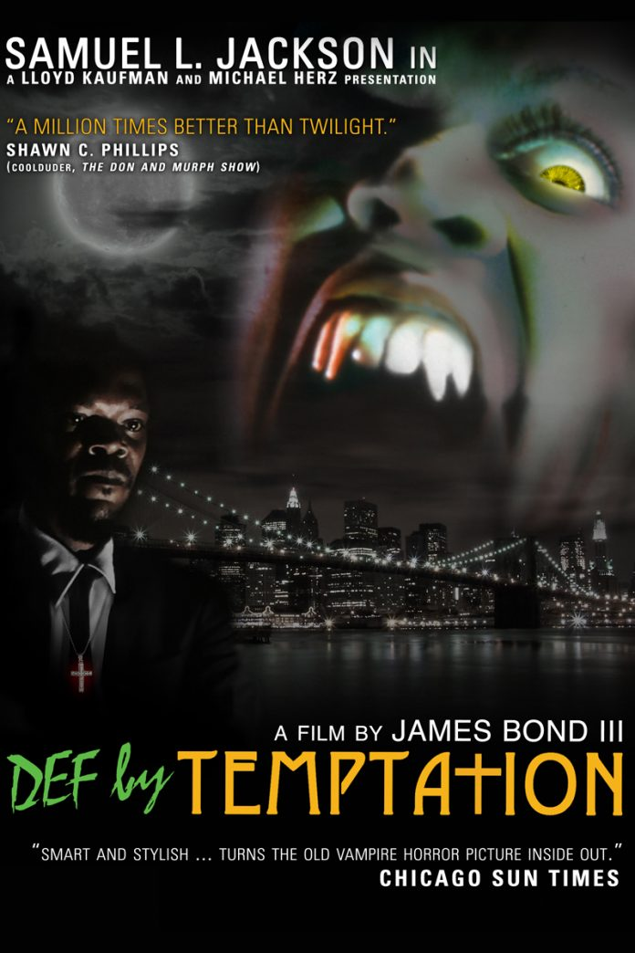 Def by Temptation horror movie poster