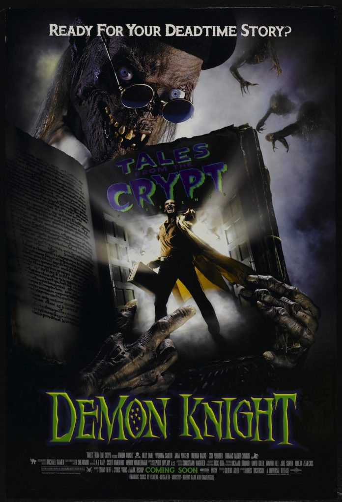 Demon Knight horror movie poster