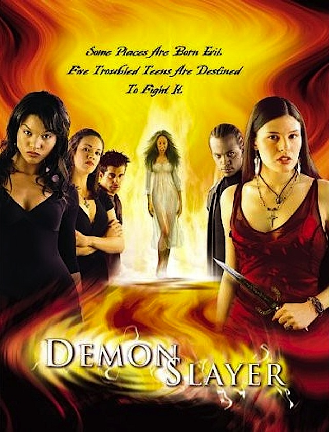 Demon Slayer horror movie poster