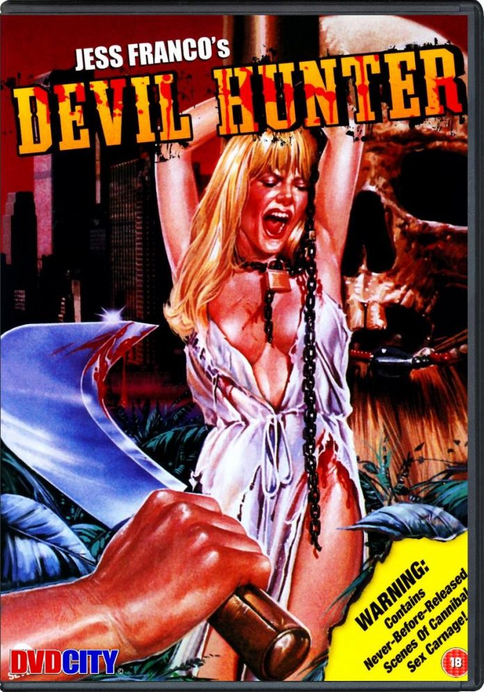 Devil Hunter horror movie poster