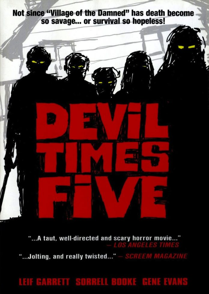 Devil Times Five horror movie poster