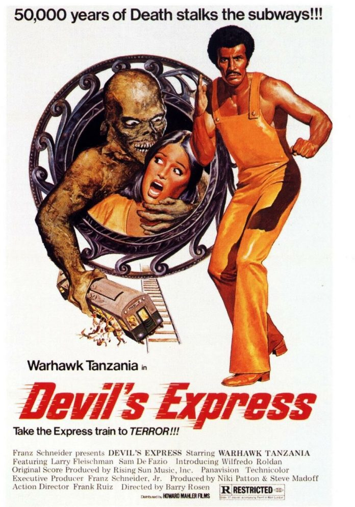 Devils Express Gang Wars horror movie poster