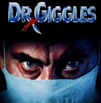Dr. Giggles horror movie poster