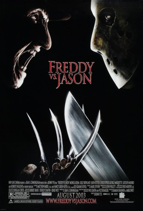 Freddy vs. Jason horror movie poster