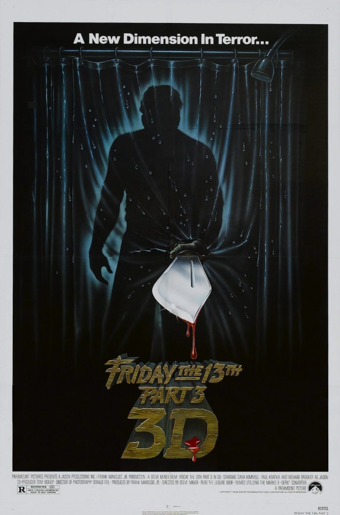 Friday the 13th Part 3 movie poster