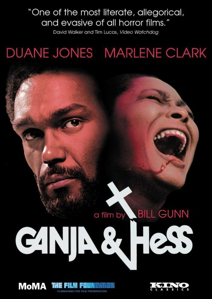 Ganja and Hess horror movie poster