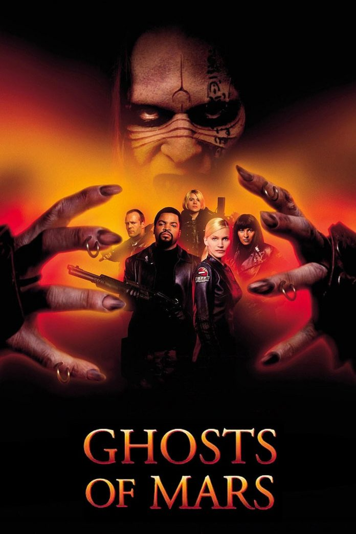 John Carpenter's Ghosts of Mars movie poster