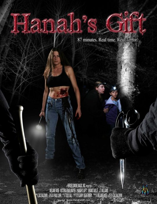 Hanah's Gift horror movie poster