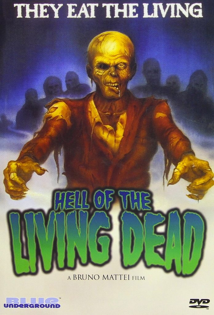 Hell of the Living Dead horror movie poster