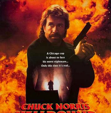 Chuck Norris in Hellbound movie poster