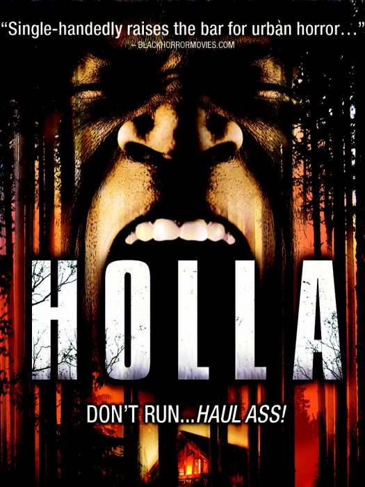 Holla horror movie poster
